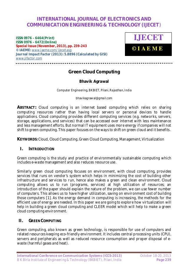 International Journal of Electronics and Communication Engineering & Technology (IJECET), INTERNATIONAL JOURNAL OF ELECTRO...