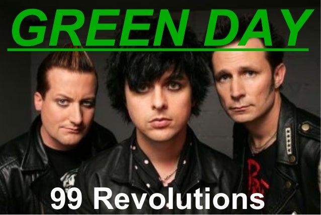 Green day   99 revolutions