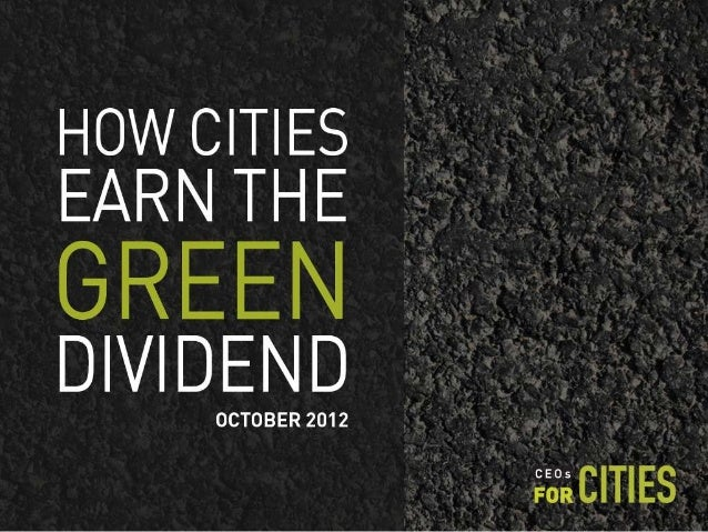 Green dividend presentation