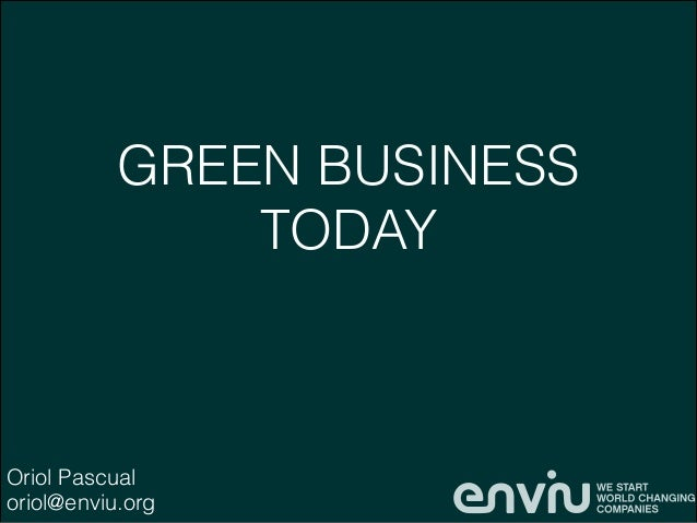 Green Business Today