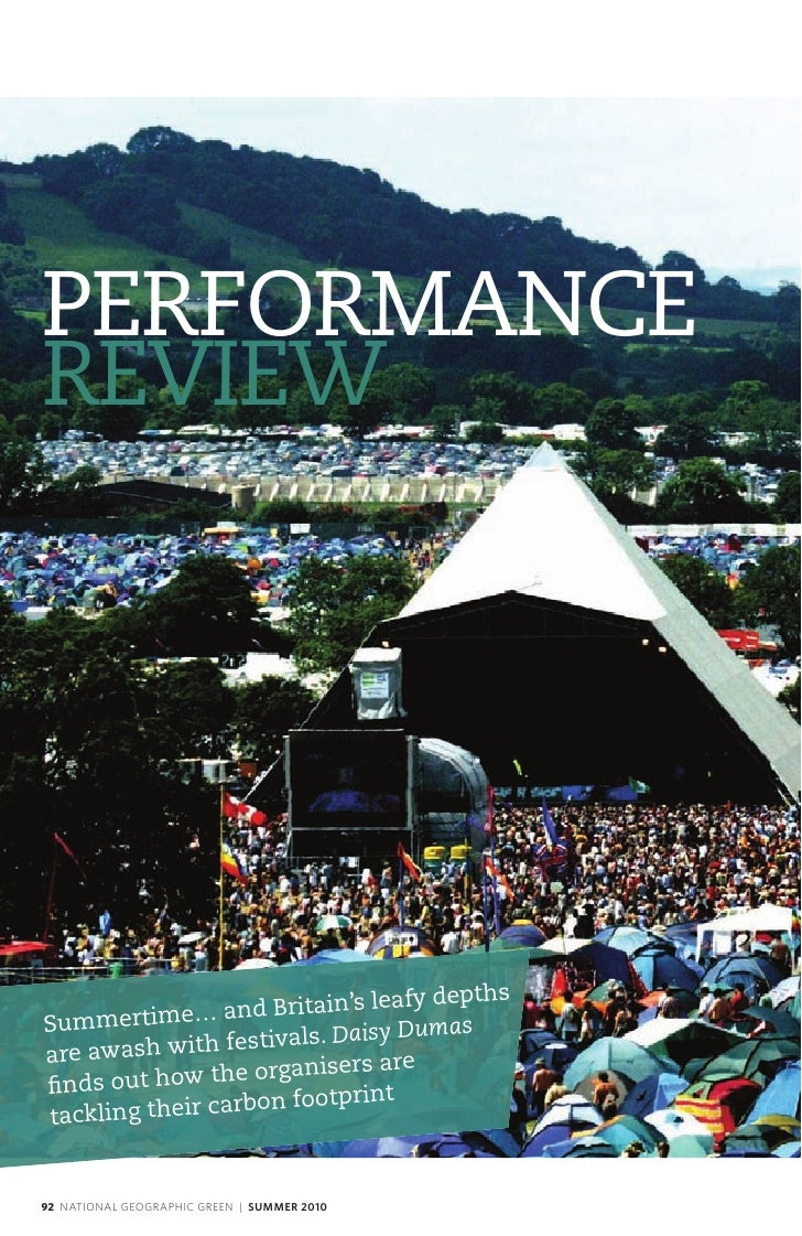 PERFORMANCE REVIEW                                   leafy depths Summertim   e… and Britain's                          . ...