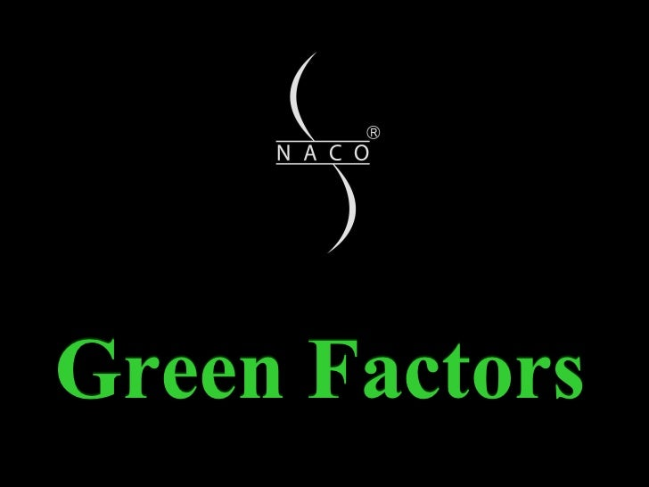 Green Factors Green Factors