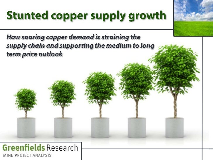 Stunted Copper Supply Growth - July 2011 - Greenfields Research