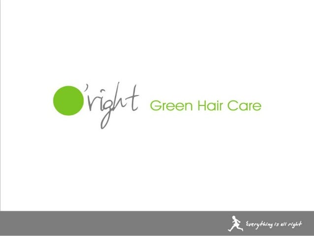 Professional Organic Salon Products - Green Formula