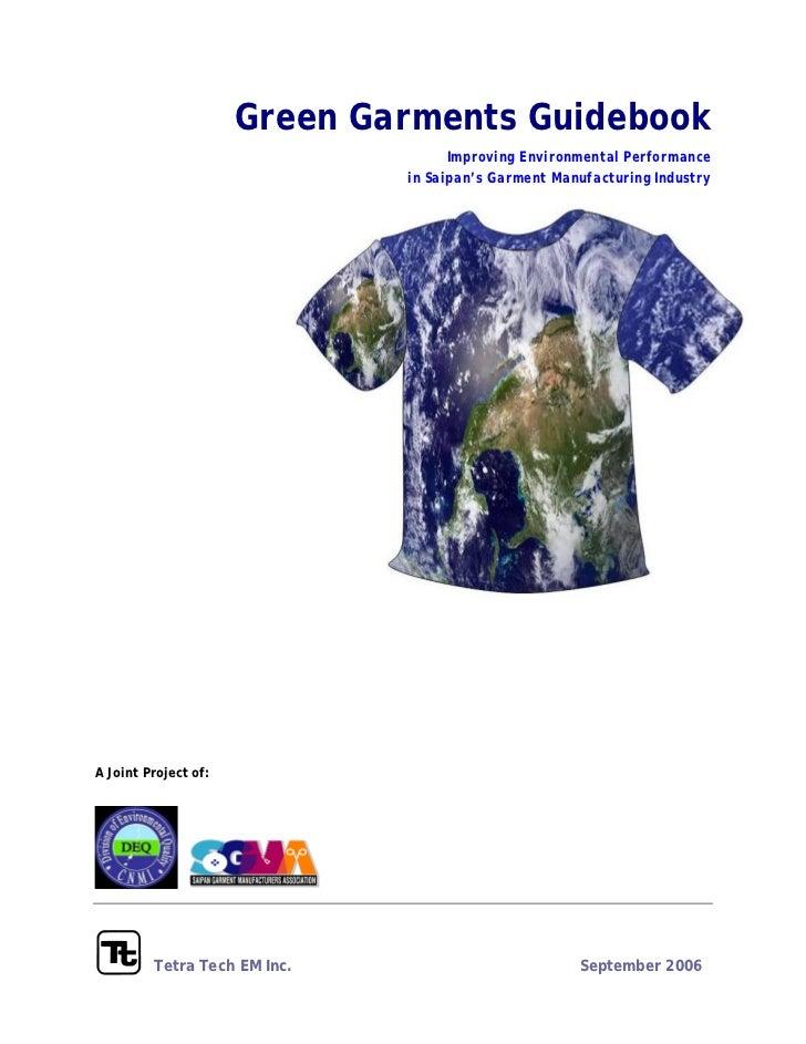 Green garment