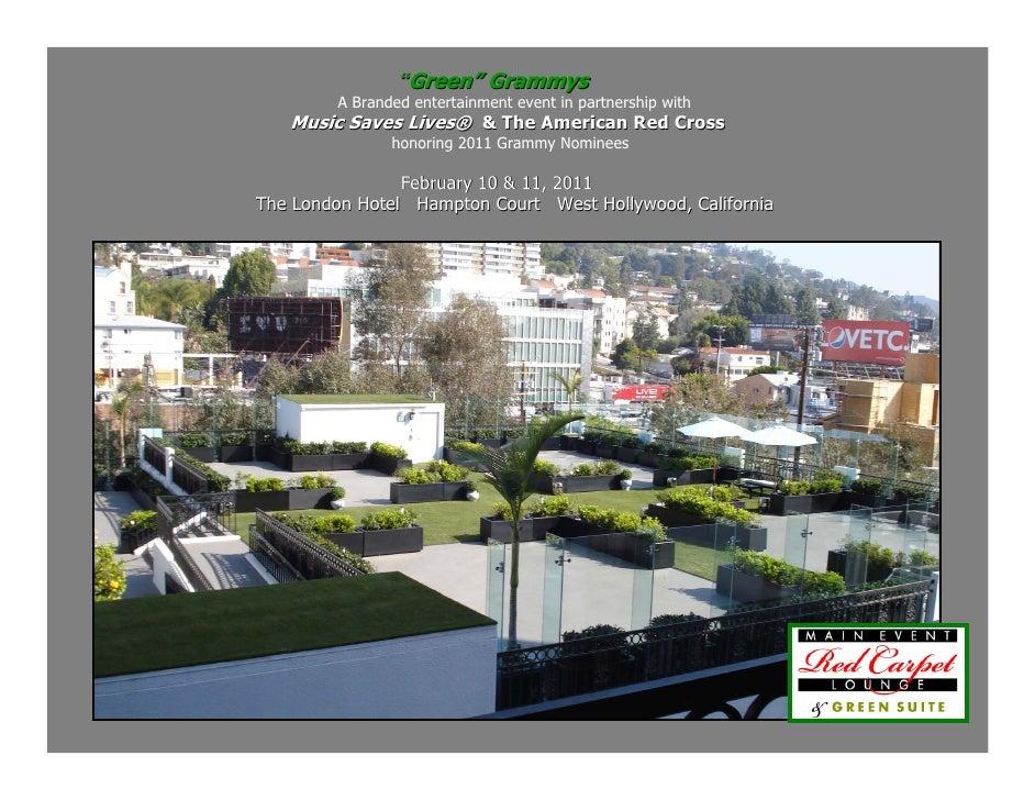 Green Grammys 2011
