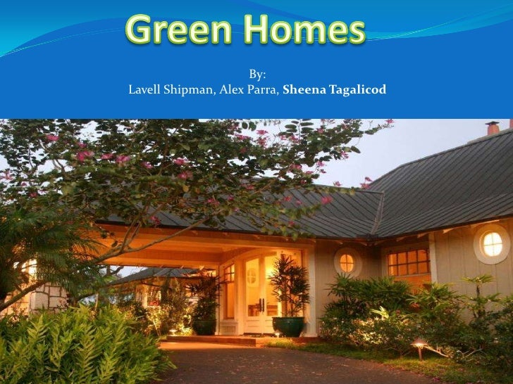 Green Homes for Hawai'i