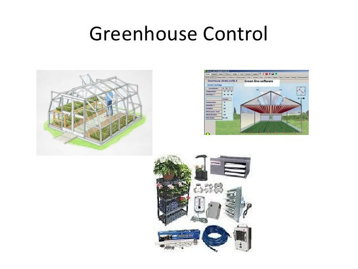 Greenhouse control by ar (an overview)