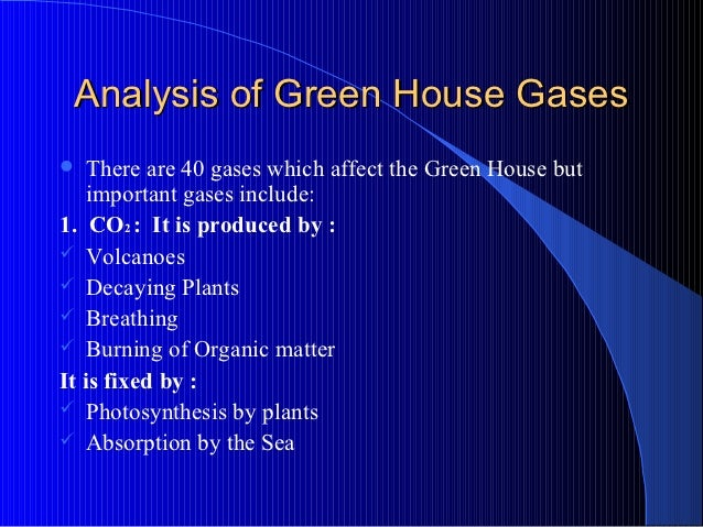 the green house effect chlorofluorocarbons and An introduction to the major greenhouse gases in the earth's atmosphere as a greenhouse gas chlorofluorocarbons.