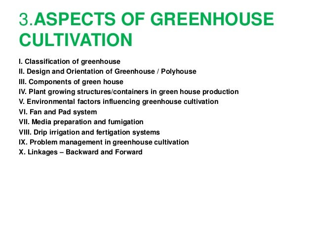 Green House Ppt