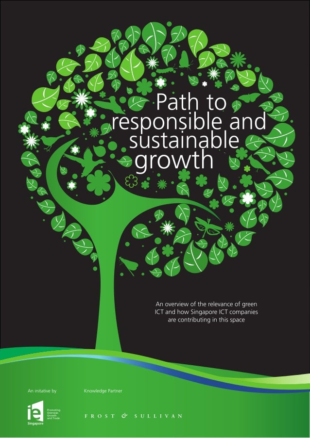 Path to responsible and sustainable growth Acknowledgements IE Singapore would like to acknowledge the following partners ...