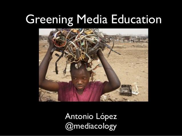 Greening Media Literacy Brussels
