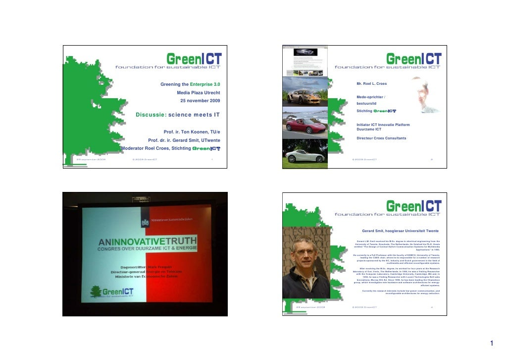 Roel Croes, GreenICT