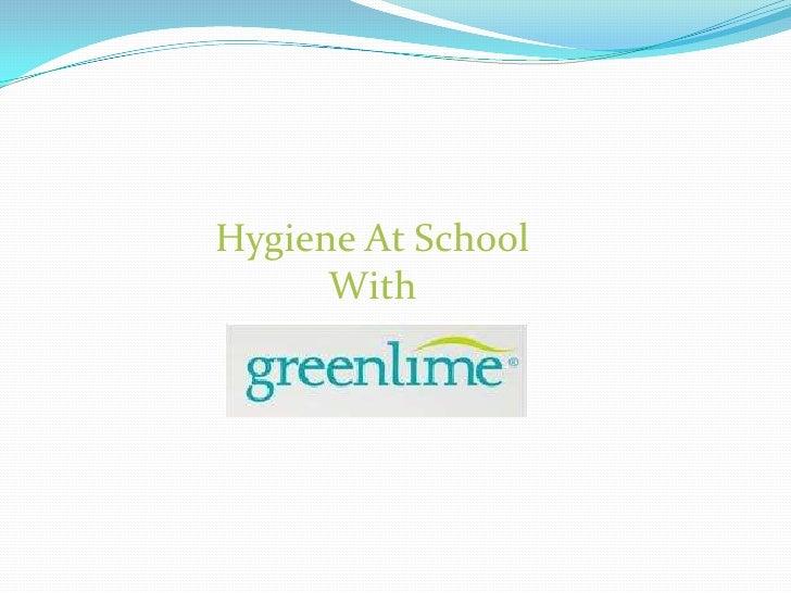 Greenlime school hygiene