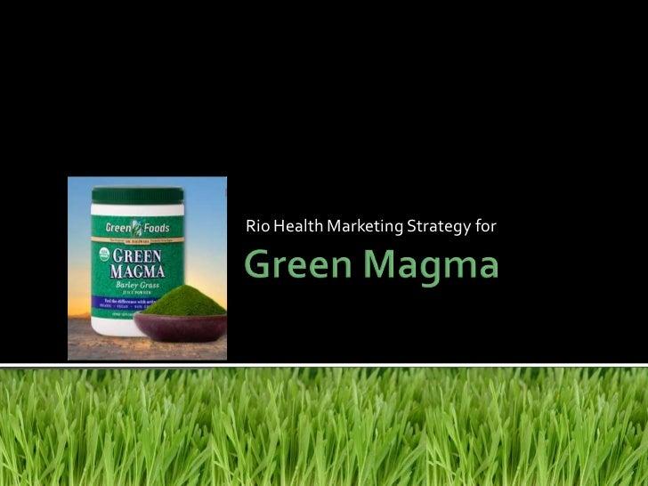 Green Magma Presentation