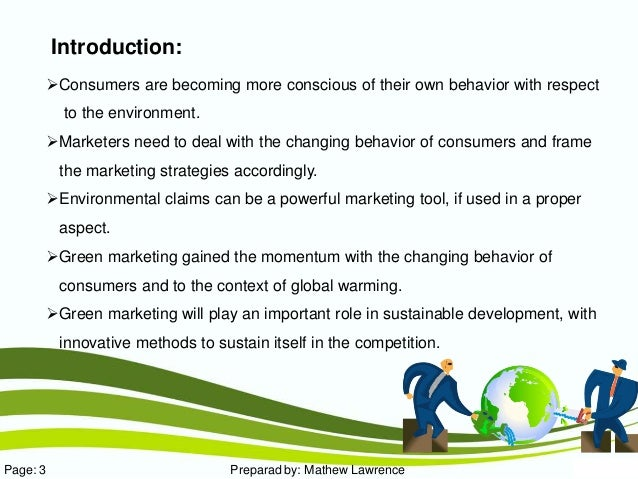 Can I get a good hypothesis on customers perception about green marketing?