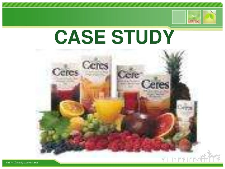 Case Study<br />