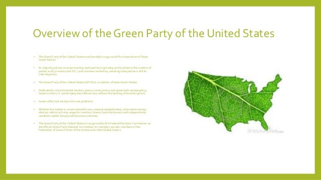 the green party of the united