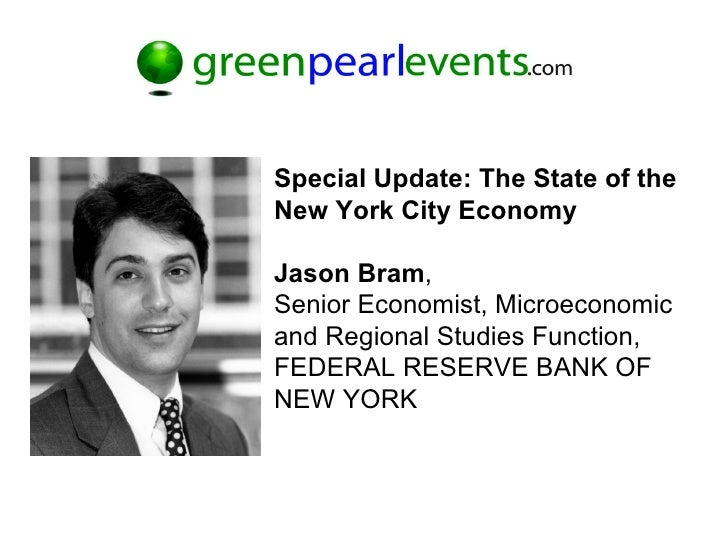 Green Pearl Events Multifamily Investment Summit   State Of Nyc Economy