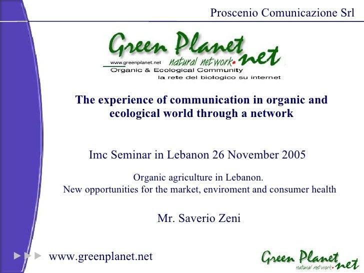 Greenplanet a Beirut 2005