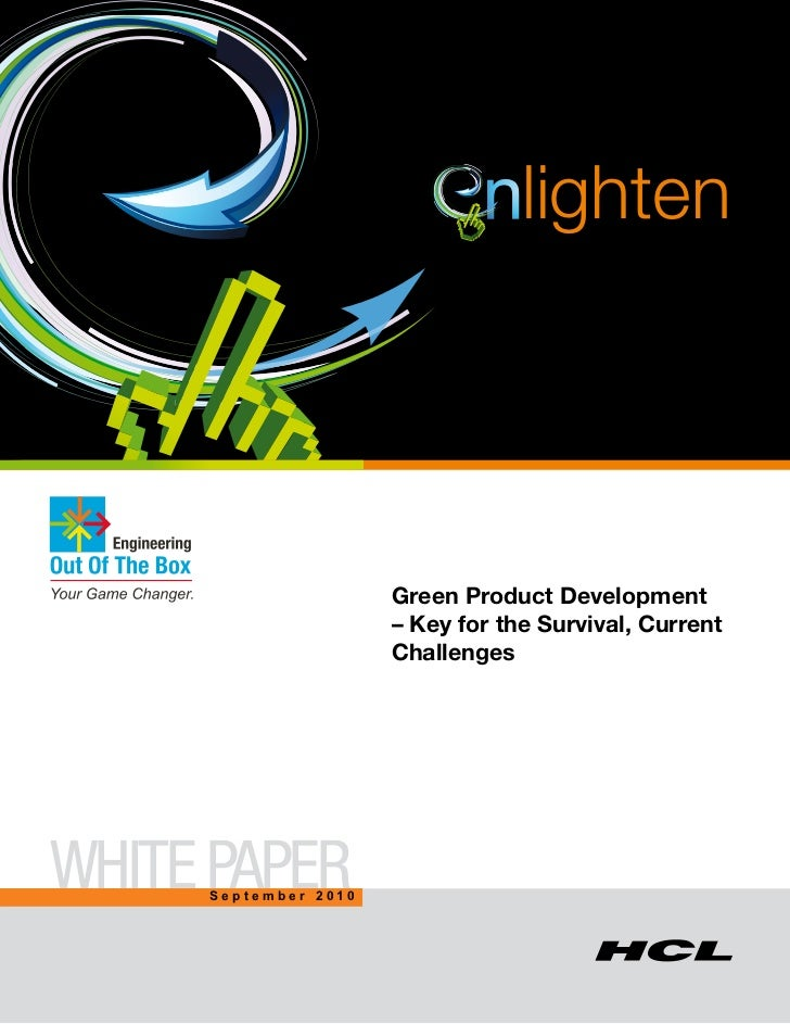 nlighten                                 Green Product Development                                 – Key for the Survival,...