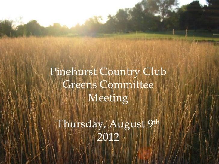 PCC_Greens_Ccommittee_Mtg_8_9_12