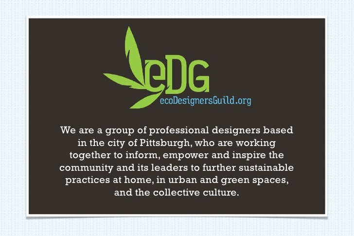 We are a group of professional designers based     in the city of Pittsburgh, who are working   together to inform, empowe...
