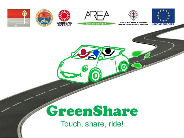 GreenShare Touch, share, ride!