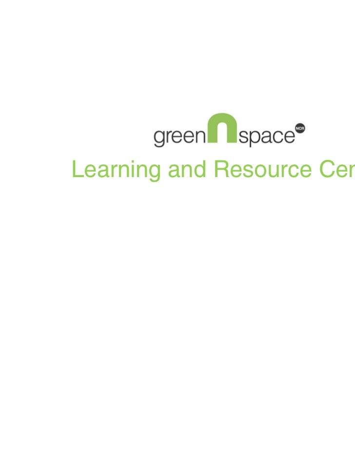 Learning and Resource Center