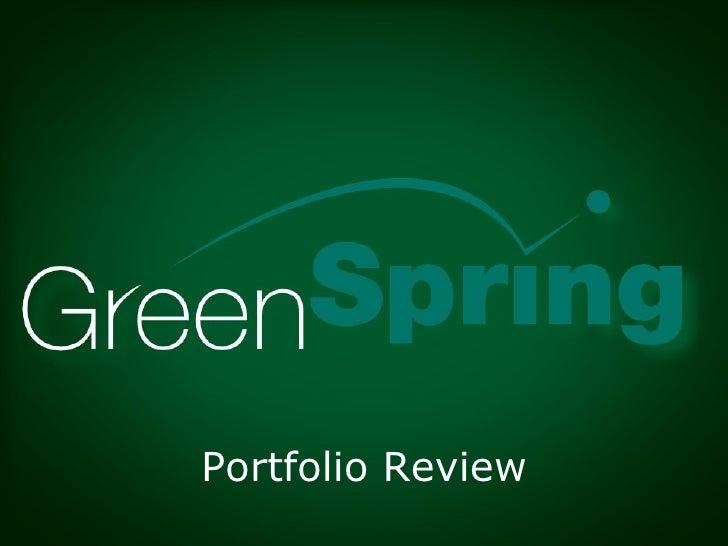 GreenSpring Portfolio