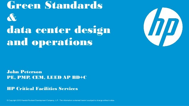 How green standards are changing data center design and operations
