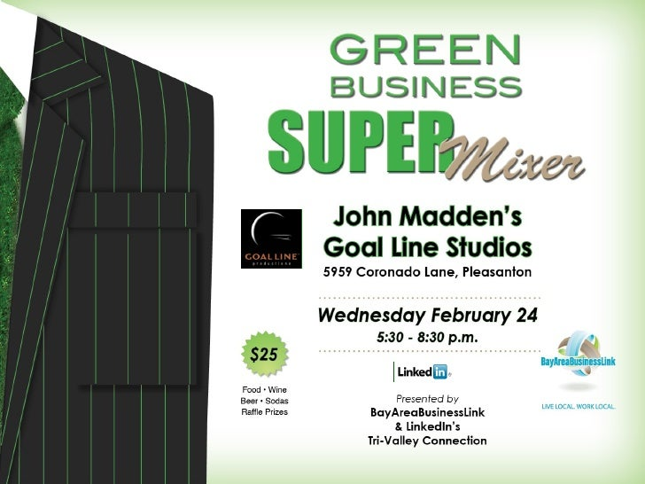 Green Super Mixer February 24 At John Maddens Goal Line V5