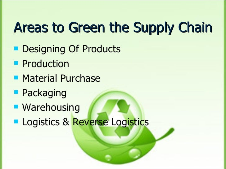 green supply chain management phd thesis Logistics and transport management masters thesis no 2002:29 an approach towards overall supply chain efficiency - a future oriented solution and analysis in inbound process.