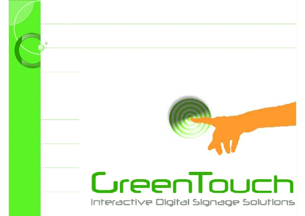 Green Touch Presentation Rel.4.1