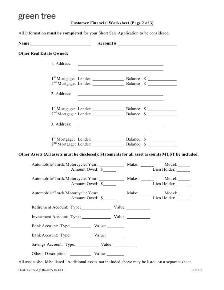 Wells fargo financial worksheet 2012