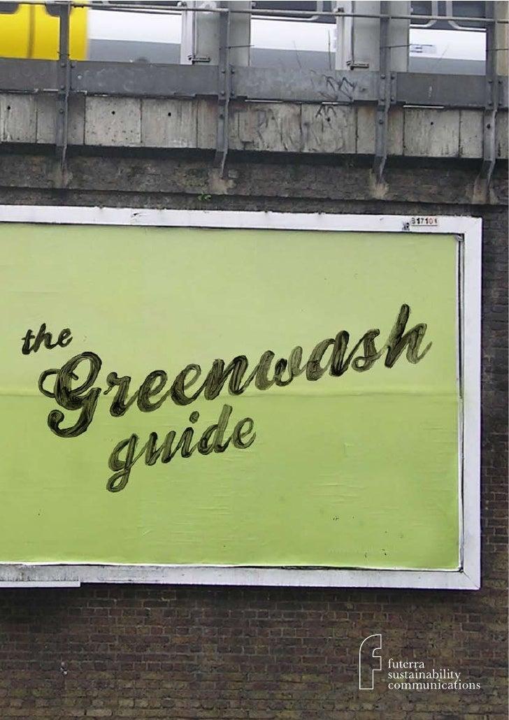 Greenwash Guide