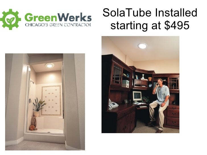 SolaTube Installed starting at $495