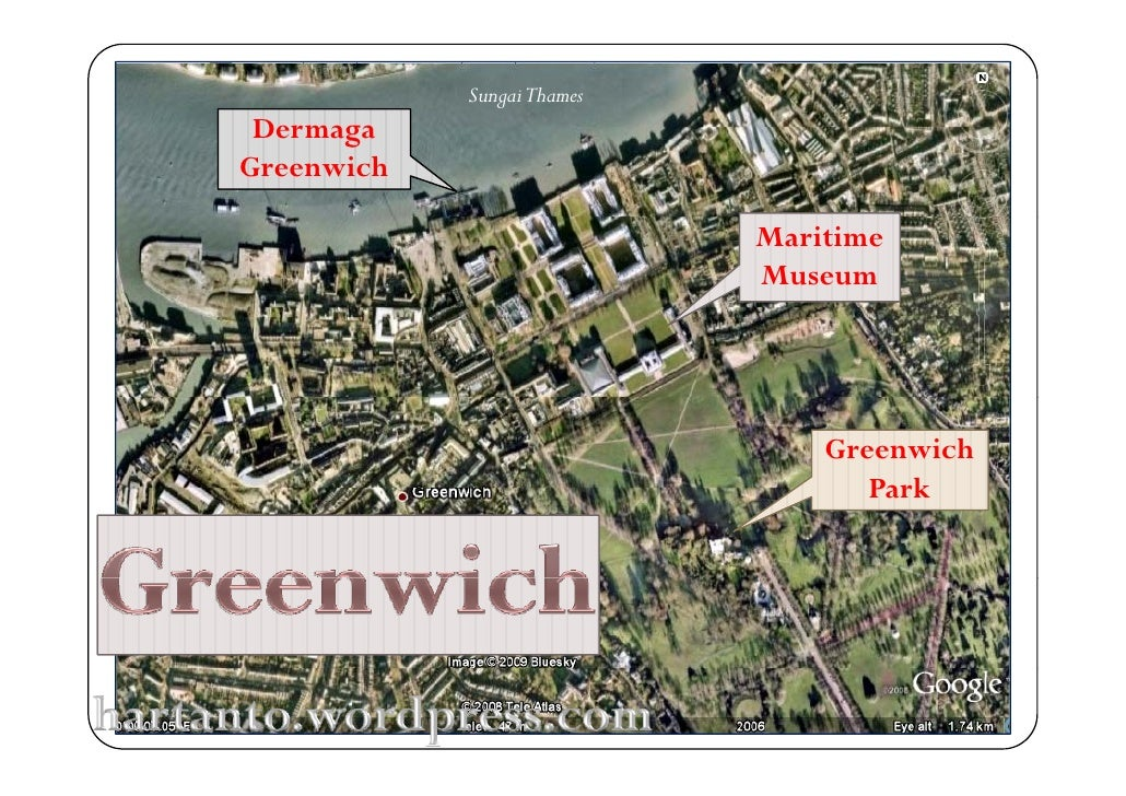 Sungai Thames  Dermaga Greenwich                              Maritime                             Museum                 ...