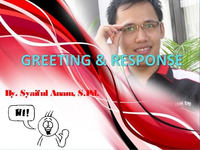 By. Syaiful Anam, S.Pd.