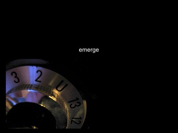 Greg Verdino: Emerge