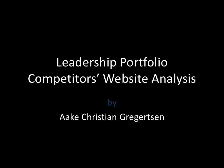 Competive Analysis Presentation