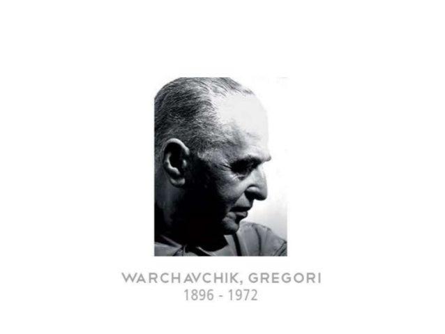 WARCHAVCHIK,  GREGORI 1896-1972  Giegcwi ílyciw mfarciwa~gumlwnku : masceu na cidade de áldessa,  Llcràma @n12 de aim!  de...