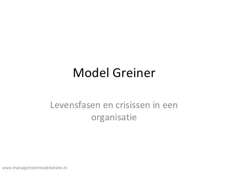 Greiner model presentatie