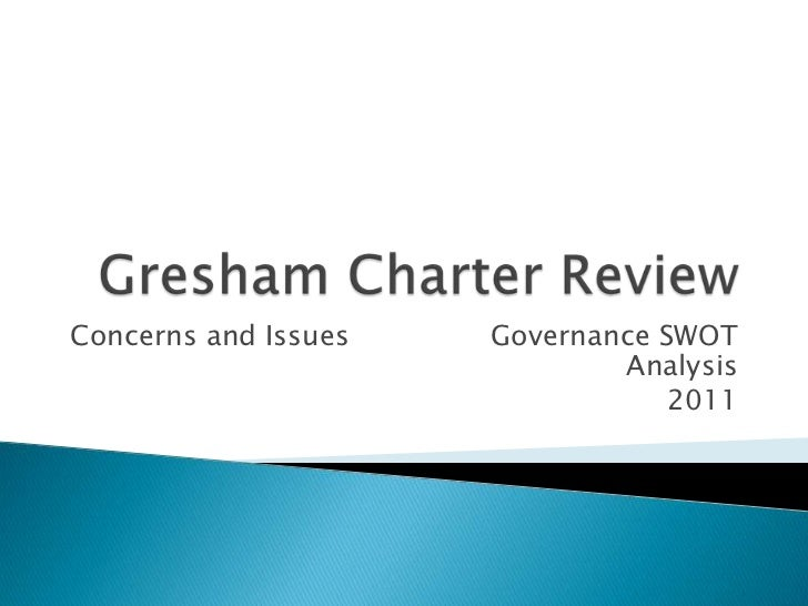 Gresham charter review