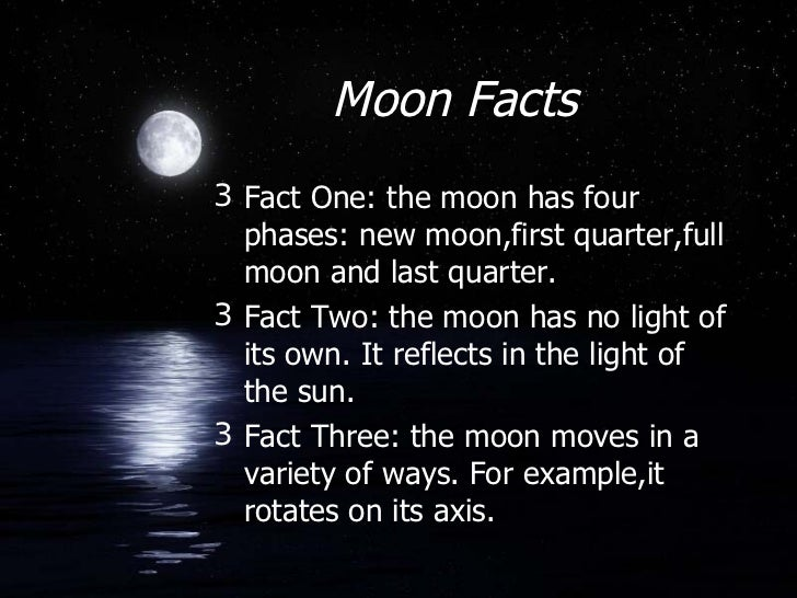 Cool Moon Facts For Kids