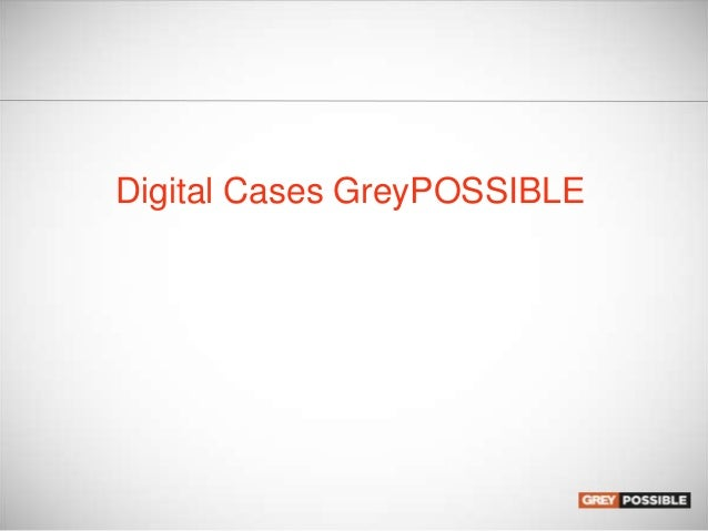 Digital Cases GreyPOSSIBLE