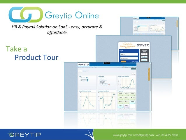 Greytip Online - Product Tour