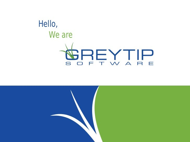 Greytip Software - Company Profile