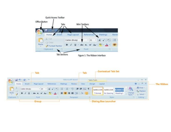 Microsoft Tool Bar