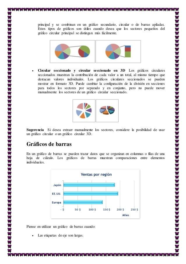 Barras Apiladas Excel o de Barras Apiladas